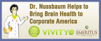 Dr. Nussbaum Helps to Bring Brain Health to Corporate America